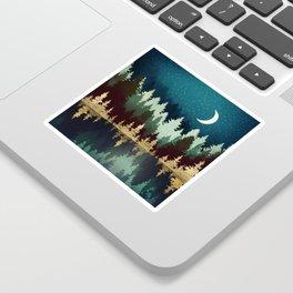 Star Forest Reflection Sticker