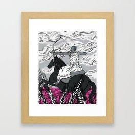 Yennenga Framed Art Print