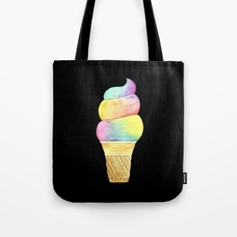 Rainbow Ice Cream Tote Bag