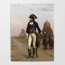 Jean-Leon Gerome - Napoleon in Egypt Poster
