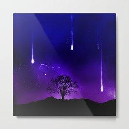 Space Tree 170814 Metal Print