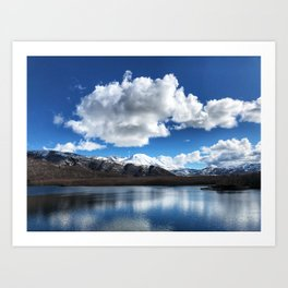 Mt. St. Helens from Coldwater Lake Art Print