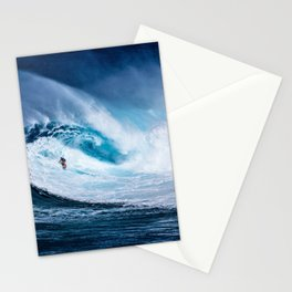 Wave Series Photograph No. 5 - Thirty Foot Roller Stationery Cards