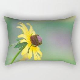 Portrait of a Wildflower Rectangular Pillow