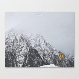 Ravin Canvas Print