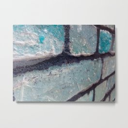 Along the Wall Metal Print