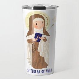 Saint Terese of Avila Travel Mug