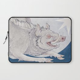 White boar Laptop Sleeve