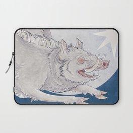 White boar Laptop Sleeve
