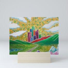 The Crystal City Mini Art Print