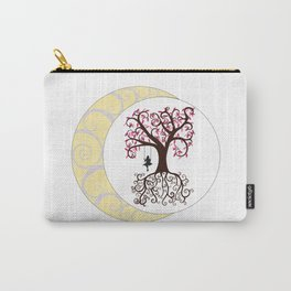 Swirls and a Swing Carry-All Pouch