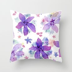 Flower bared Throw Pillow