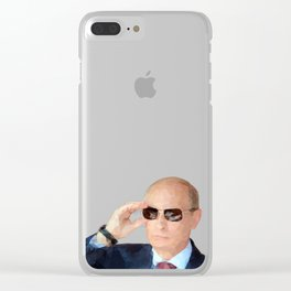 Mr. Putin Clear iPhone Case