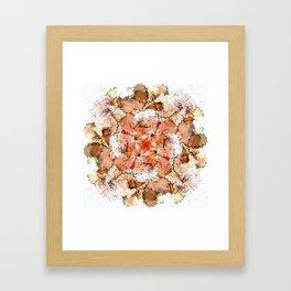 kaleidoscope - Pencil Sharpenings Framed Art Print