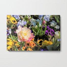 Flowerfull Metal Print
