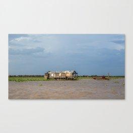 Chong Khneas Floating Village XV, Siem Reap, Cambodia Canvas Print