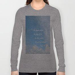 The Heavens Declare Long Sleeve T-shirt