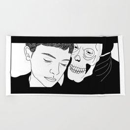 Amelie - Nino Skull Beach Towel