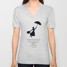 Mary Poppins - A Game Unisex V-Neck