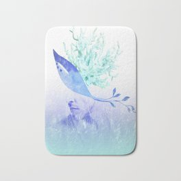 unspoken words Bath Mat