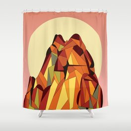 TOUCHING THE VOID Shower Curtain