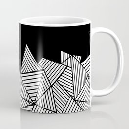 Abstraction Mountain Coffee Mug