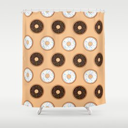 Donuts Resist Shower Curtain