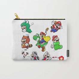Old School Marios Carry-All Pouch