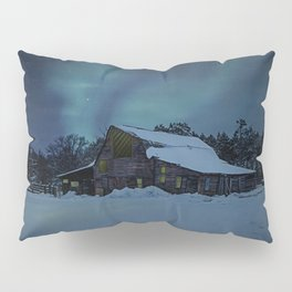 Winter finds out what summer lays up. Pillow Sham