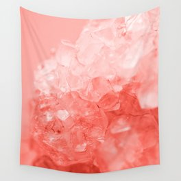 Coral Gem Wall Tapestry
