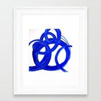 matisse Framed Art Prints featuring MATiSSE by Linnea Heide