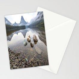 Rocky Lake Mountains Stationery Cards