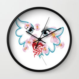 Engel Wall Clock