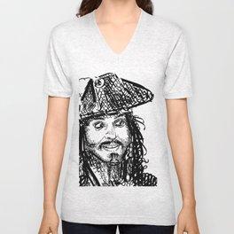 Jack Sparrow Unisex V-Neck