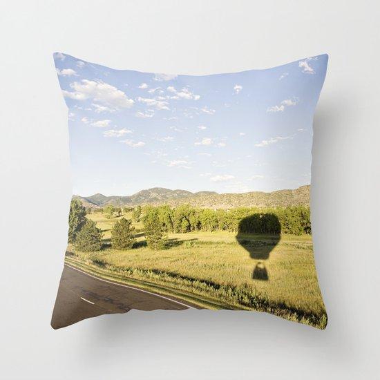 away we go::denver Throw Pillow