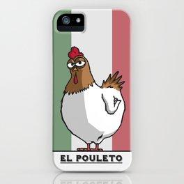 El Pouleto iPhone Case