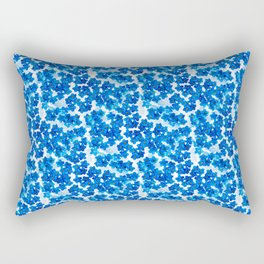 Forget-me-not Flowers White Background #decor #society6 #buyart Rectangular Pillow