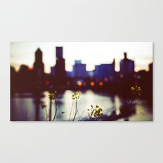 welcome to portland oregon Canvas Print