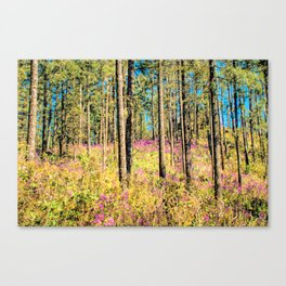 WOODN'T IT BE LOVELY Canvas Print