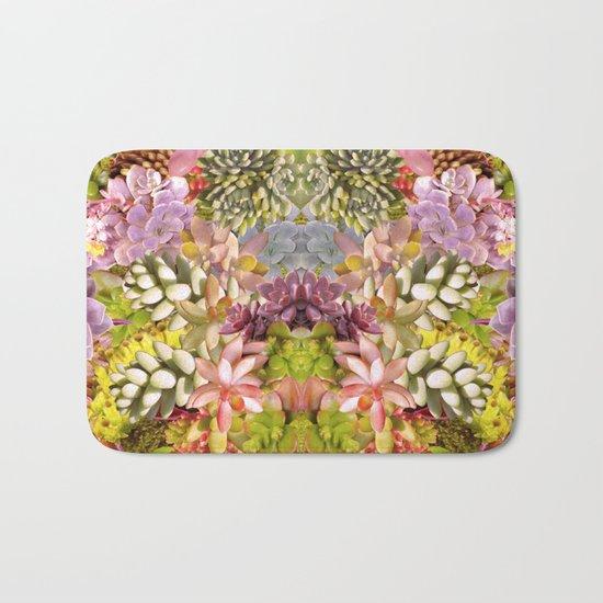 Succulent Garden Bath Mat