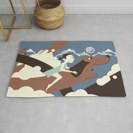 Dackel rider from the North Rug