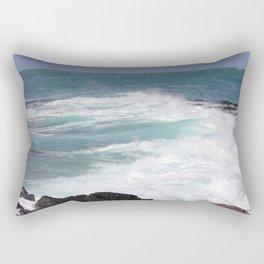 Furious ocean Rectangular Pillow