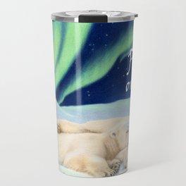 Under The Northern Lights- Peace on Earth Travel Mug
