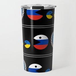 United Nations Russia and Ukraine Travel Mug