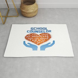 School Counselor Rug