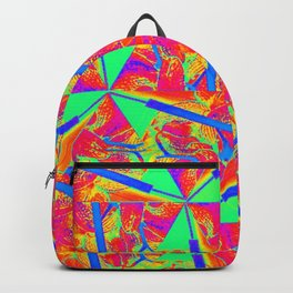 The flower Backpack