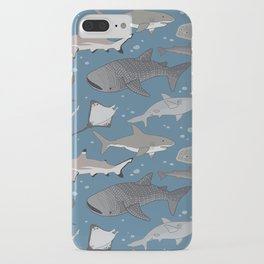 Sharks and Rays iPhone Case