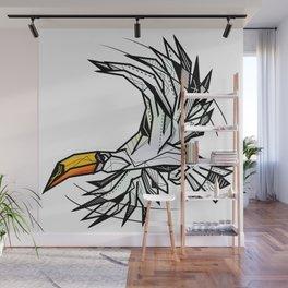 Toucan bird geometric Wall Mural