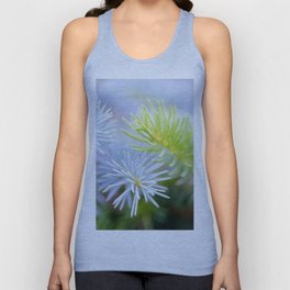 Two fir branches close-up shot Unisex Tank Top