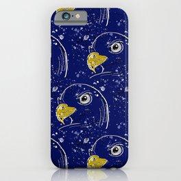 Splatter Painted Hawks iPhone Case